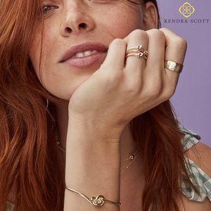 Kendra Scott Presleigh Cuff Bracelet in Rose Gold